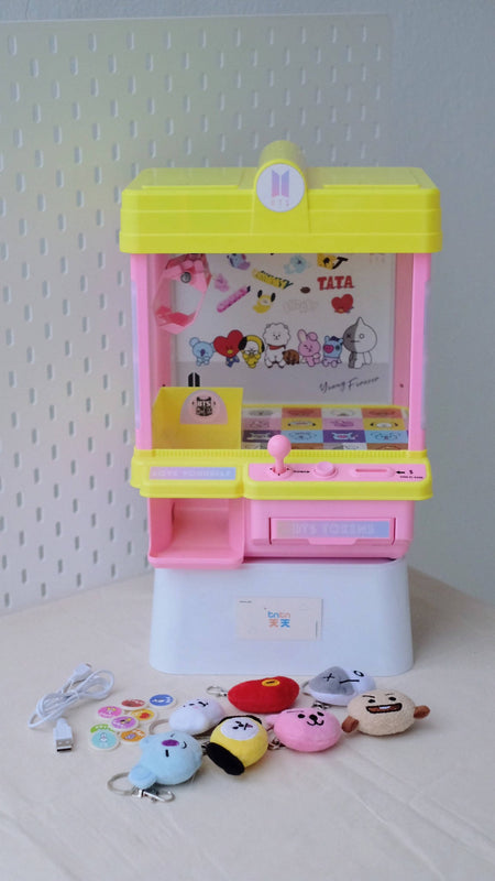 BT21 / BTS Mini Arcade USB Claw Machine