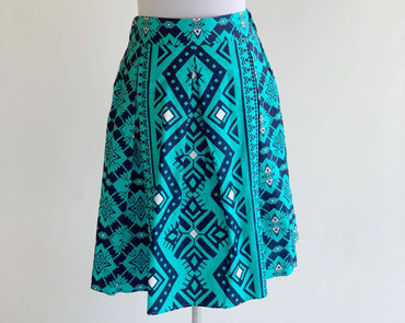 Sirung Skirt - Blue Teal