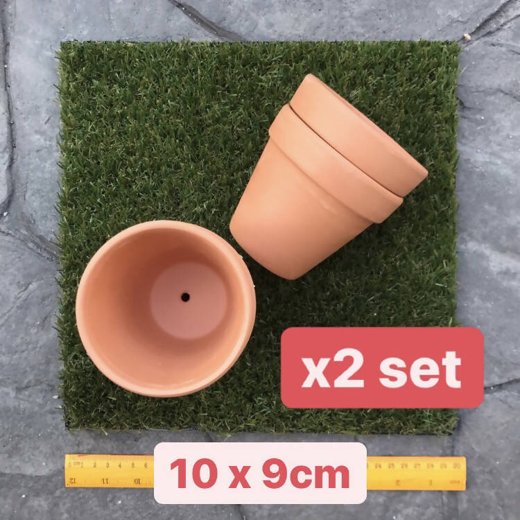 Tall Terracotta Pots