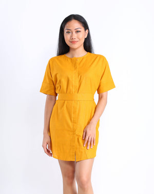 Lula Shirtdress in Turmeric