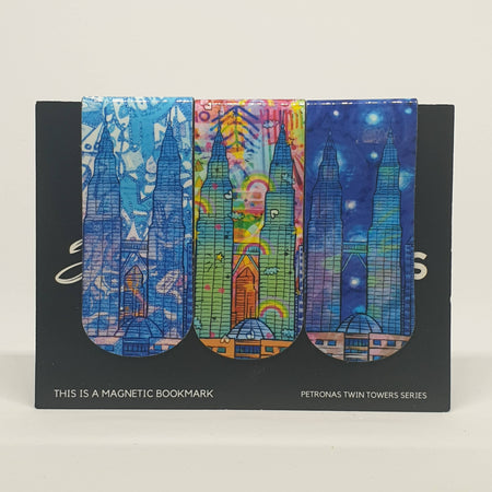 MAGNETIC BOOKMARKS - VIVID KLCC SERIES