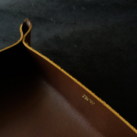 Align.Co Personalised Genuine Leather Valet Tray