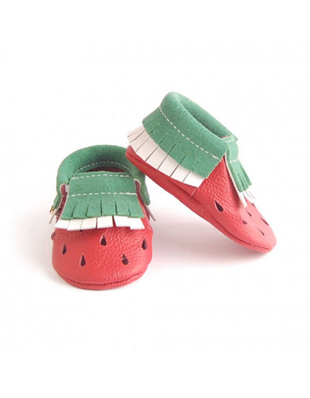 Bebebundo Baby Leather Shoes - Watermelon Fruits Collection