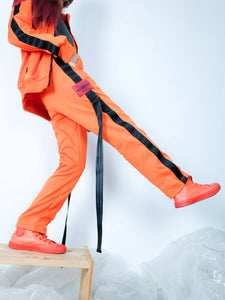 "EX010 ""I'M EXTRAORDINARY"" TRACK PANTS (ORANGE)"