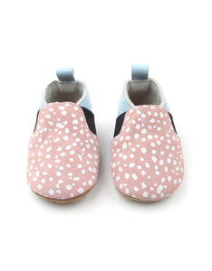 Bebebundo Baby Leather Shoes - Spots Sunset Collection
