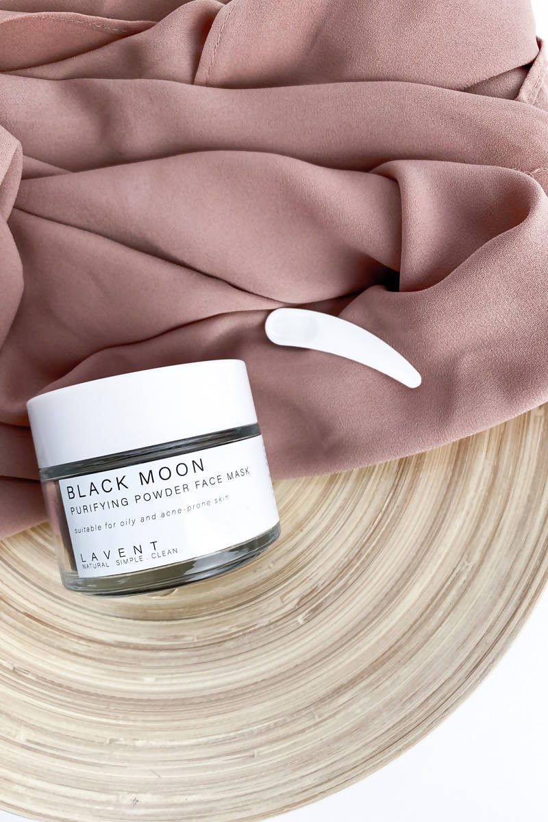 Black Moon Facial Clay Mask