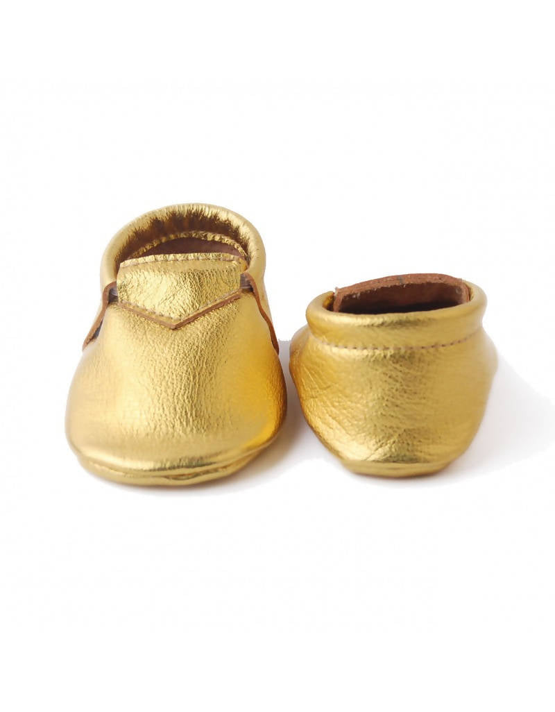 Bebebundo Baby Leather Shoes - 24K Metallic Collection