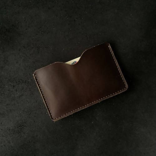 Align.Co Genuine Full-Grain Leather Single-Pocket Cardholder