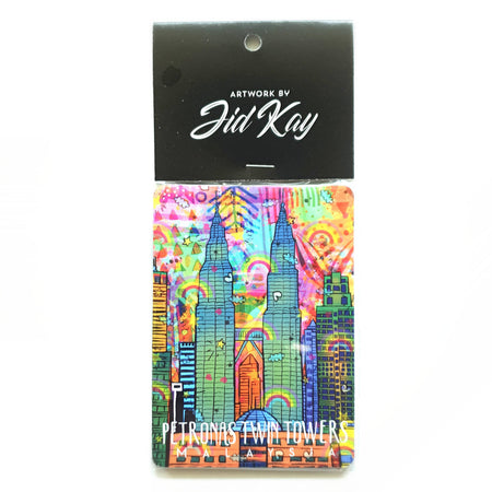 KLCC Artwork Fridge Magnets Set