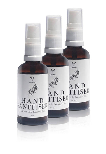 3 x Hand Sanitiser with 11 Essential Oils