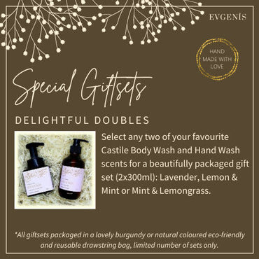 Giftset: Delightful Doubles (Body Wash + Hand Wash)