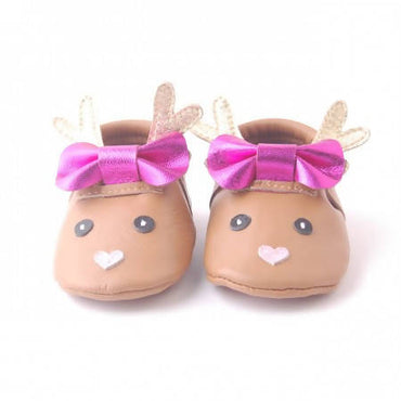 Bebebundo Baby Leather Shoes - Comet Xmas Collection