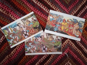 Country Scenes Postcards