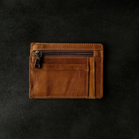 Genuine Full-Grain Leather All In Wallet