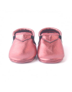 Bebebundo Baby Leather Shoes - Sienna Metallic Collection