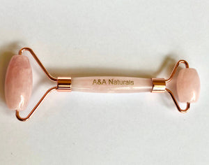 Premium Rose Quartz Beauty Roller