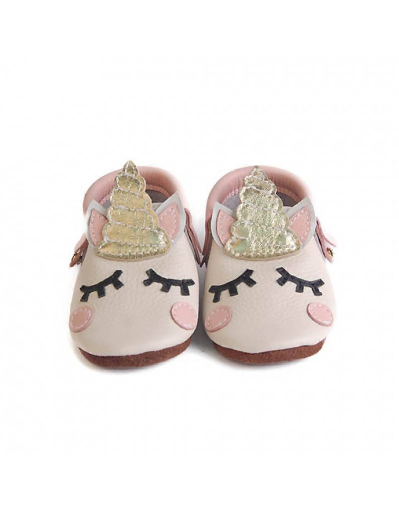 Bebebundo Baby Leather Shoes - Unicorn Magical Collection