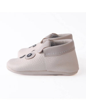 Bebebundo Baby Leather Shoes - Puppy Zoo Animals
