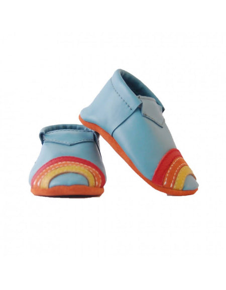 Bebebundo Baby Leather Shoes - Rainbow Magical Collection
