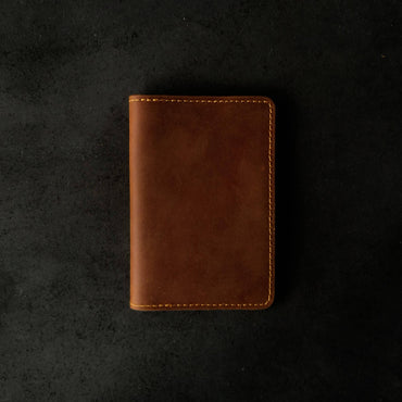 Genuine Full-Grain Leather Passport Holder