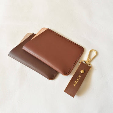 Align.Co Genuine Full-Grain Leather Minimalist Cardholder