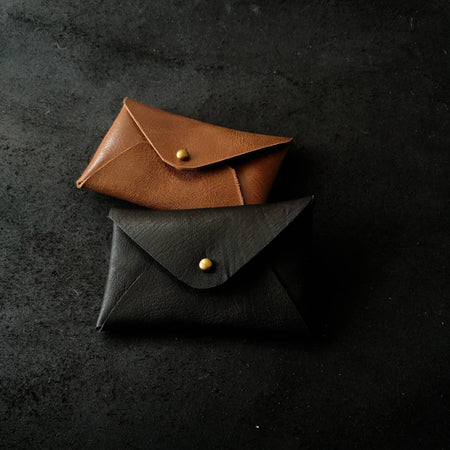 Align.Co Personalised Genuine Leather Envelope Cardholder