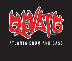 elevate logo red