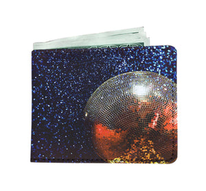 Galaxy Disco Ball Wallet