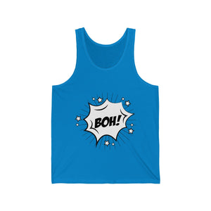 Boh-Boh-Boh Drum and Bass Comic Tank Top