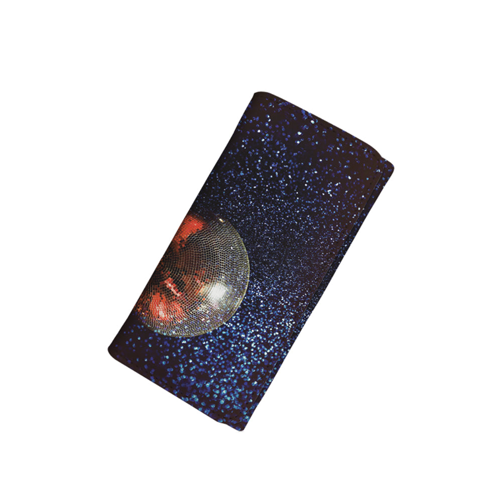 Galaxy Disco Ball Wallet for Her