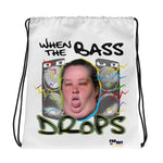 Mama June BASS FACE Drawstring Bag