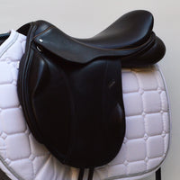 "Loxley by Bliss Jump Monoflap Saddle 17.5"" MW - Brown (SKU140)"