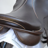 "Loxley by Bliss Jump Monoflap Saddle 17.5"" MW - Brown - Buy It Now (140)"