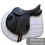 "Loxley by Bliss Jump Monoflap Saddle 17.5"" MW - Brown (140)"
