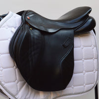 "Albion Legend K2 Jump saddle 16.5""  Medium Wide - Black (SKU159)"