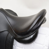 "17"" MW Silhouette General Purpose Saddle, Black (SKU145)"