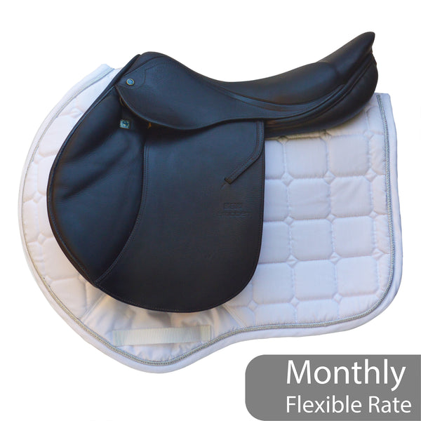 "Stubben Zaria 17"" 29 Jump saddle with Biomex (SKU182)"