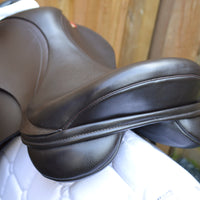 "Kent and Masters 15.5"" Pony Club GP saddle, Adjustable Gullet - Brown - Buy it Now (139)"