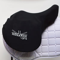 "GFS Monarch 17"" Regency-X Jump Saddle NEW, Adjustable Gullet - Black (158)"