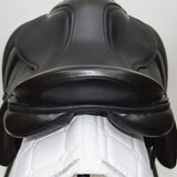 "17"" MW Silhouette General Purpose Saddle, Black (SKU175)"