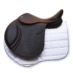 "GFS 16.5"" Monarch Regency-X Jump Saddle, Adjustable Gullet - Brown - Buy It Now (157)"