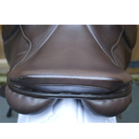 "Silhouette mono-flap Insignia event / jump saddle 17"" Medium Wide Brown (Adjustable) - Buy it now"