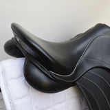 "Fairfax Spencer 17"" Adjustable Gullet Monoflap Dressage Saddle, Black (SKU187) - BUY IT NOW"