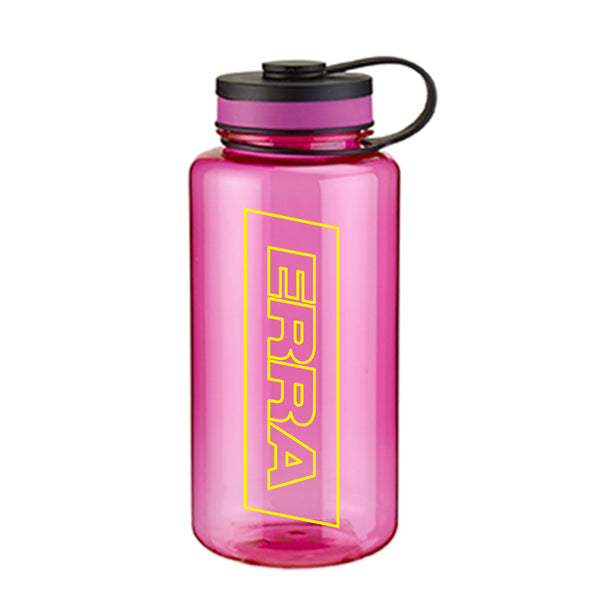 Neon Pink Water Bottle