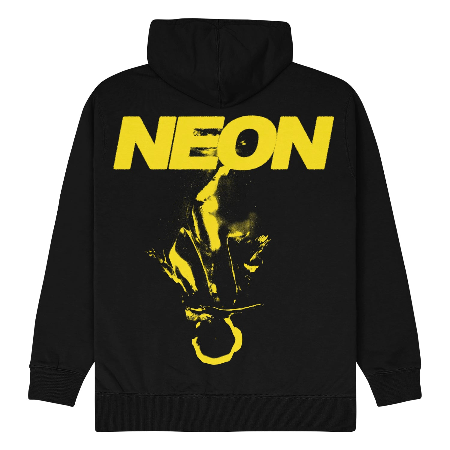 Neon Yellow on Black