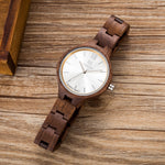Women's Luxury Watch Casual Bamboo Wood