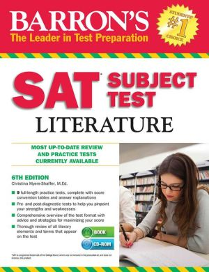 Barron's SAT Subject Test Literature [With CDROM], 6e