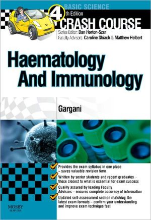 Crash Course Haematology and Immunology, 4th Edition**