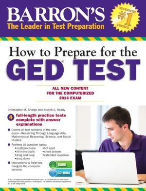 Barron's How to Prepare for the GED Test 16E (with CD-R)