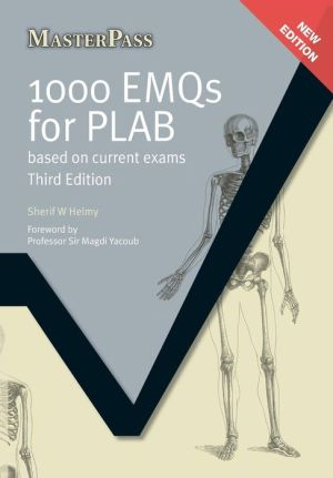 MasterPass : 1000 EMQs for PLAB: Based on Current Exams, 3e